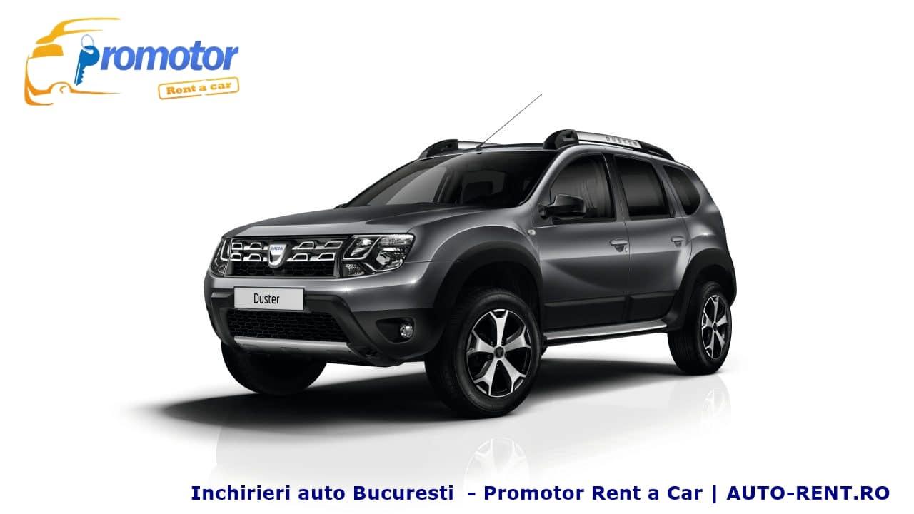 Dacia Duster, un SUV pe care il poti inchiria cu incredere