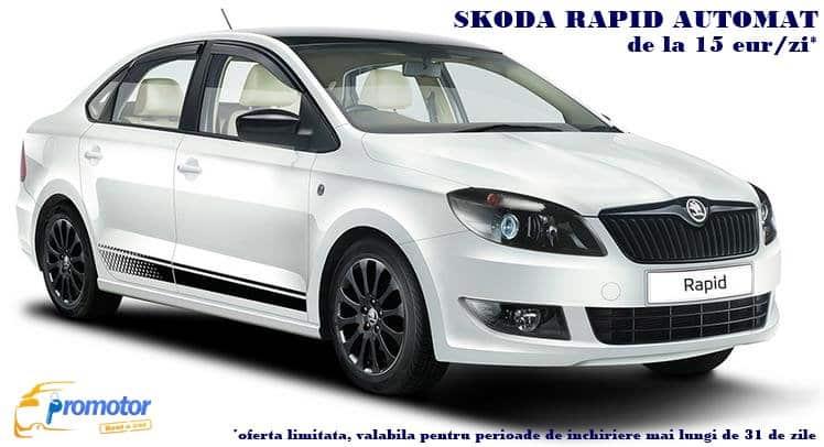 Serviciul de închirieri auto oferit de Promotor Rent a Car Bacău