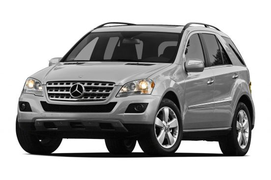 Rent Mercedes ML in Bucharest Otopeni Airport OTP