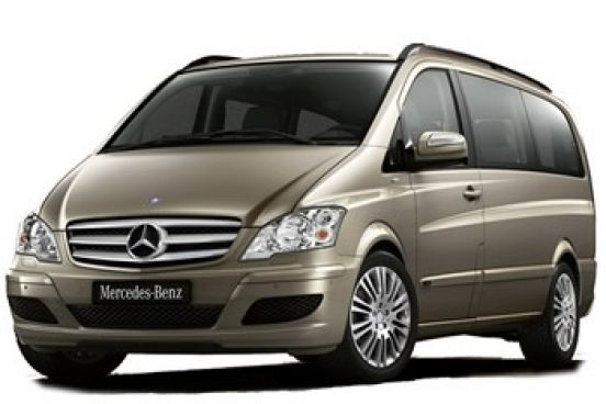 Rent Mercedes Vito in Bucharest Otopeni Airport OTP