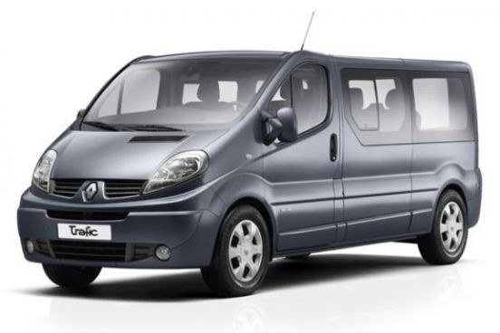 Rent Renault Trafic in Bucharest Otopeni Airport OTP