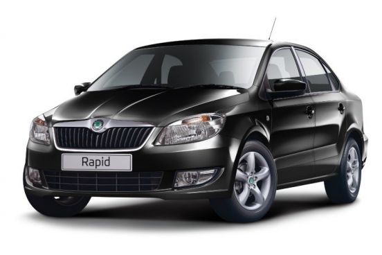 Rent Skoda Rapid Automatic in Bucharest Otopeni Airport OTP