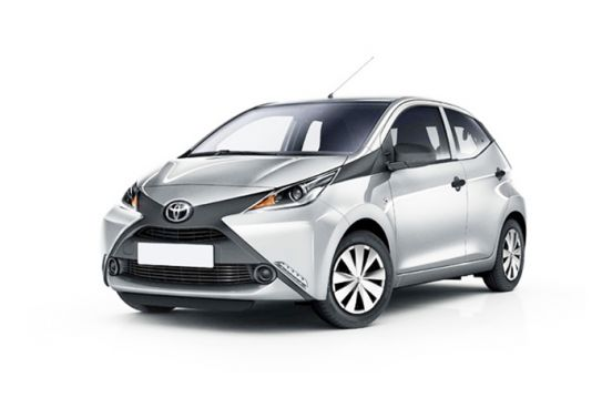 Rent Toyota Aygo in Bucharest Otopeni Airport OTP