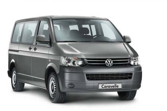 Rent Volkswagen Caravelle in Bucharest Otopeni Airport OTP